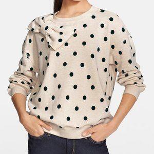 Kate Spade Deco Dot Bow Detail Sweatshirt